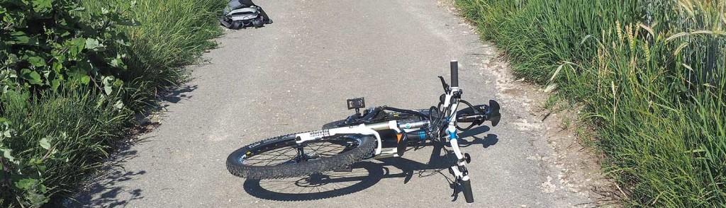 Fahrrad Unfall Kind