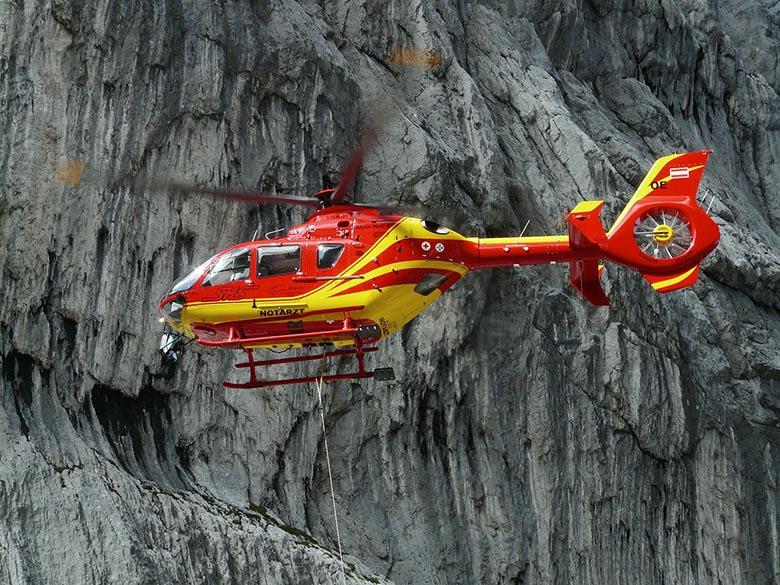 Helikopter der Bergrettung