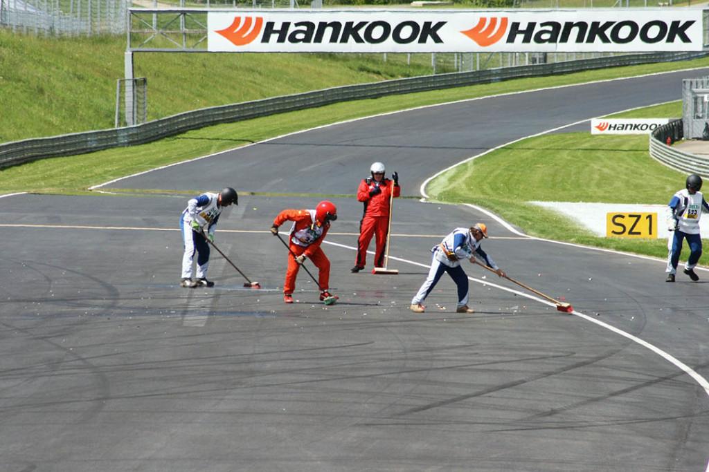 Sicherheit im Motorsport