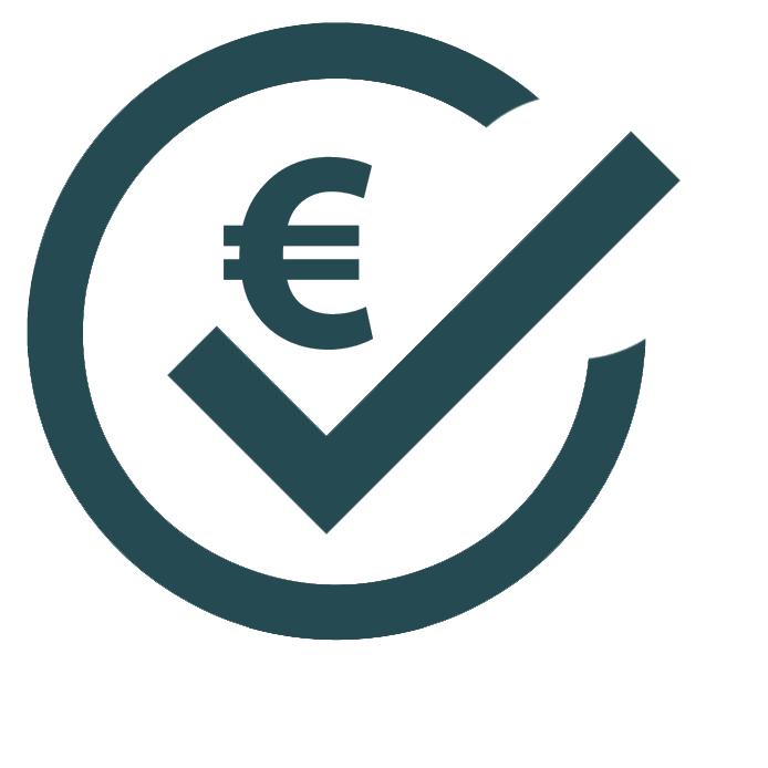 Icon für Wirtschaftlichkeit